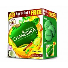 Chandrika Soap Offer, 125g (Pack of 3)(Get 1 Free)