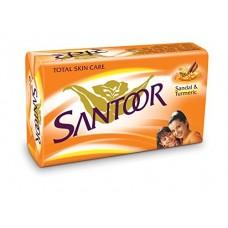 Santoor Bathing Bar, 150gm (Pack of 100)