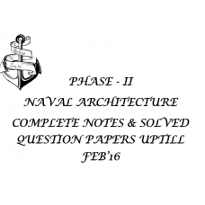 PHASE - II NAVAL ARCHITECTURE